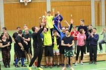 Der Sieger des Fußballturniers: Die East-Side-Schorle-Bomber aus Ötisheim.